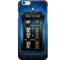 Space Traveller Box with 221b number iPhone Case/Skin