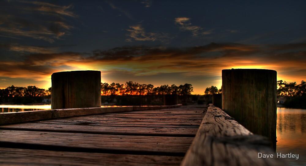 Take a long walk......... by Dave  Hartley