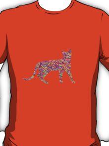 Kaleidoscopic Cat T-Shirt
