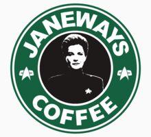 Janeway Starbucks Art Kids Tee