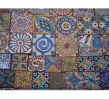 Moroccan tiles Photographic Print