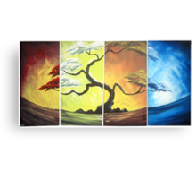 4 Seasons of the year Canvas Print