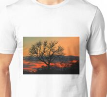 A Typical African Sunset! Unisex T-Shirt