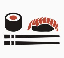 Sushi sticks sashimi by Designzz