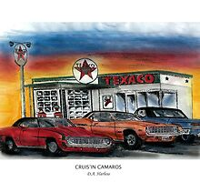 Cruisin Camaros by designsnimages
