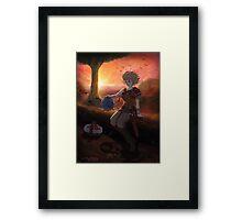 Terrene Odyssey - Zowie Poster Framed Print