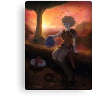 Terrene Odyssey - Zowie Poster Canvas Print