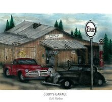 Cody's Garage by designsnimages