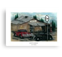Cody's Garage Canvas Print