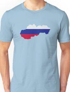 Slovakia map flag Unisex T-Shirt