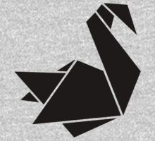 Origami swan Kids Clothes