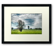 Kilworth Castle HDR early morning light Framed Print