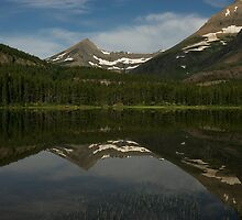 Morning at Fishercap Lake by Ken McElroy