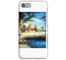Still nature on countryside iPhone Case/Skin