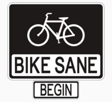 Bike Sane One Piece - Long Sleeve