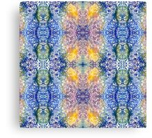 Colorful Crystals Canvas Print