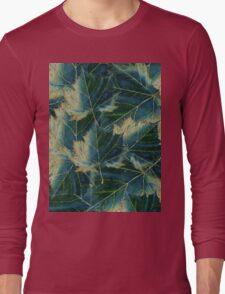 Leaves drawing  Long Sleeve T-Shirt