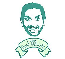 Treat Yo Self - Tom Haverford - Parks and Rec Photographic Print