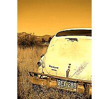 Volvo Compost Photographic Print