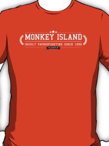 Monkey Island - Retro White Clean T-Shirt