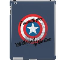 I'm With You Shield iPad Case/Skin
