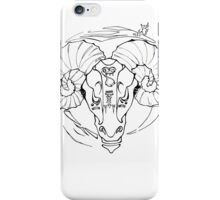 SPACE GOAT iPhone Case/Skin