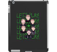 LLLLLLLLLLLETS PLAY!!! iPad Case/Skin