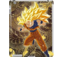SSJ 3 Son Goku and Shenron  iPad Case/Skin