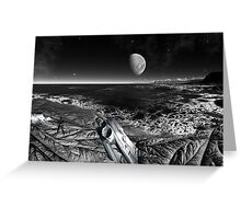 Alone in the Galaxy Greeting Card