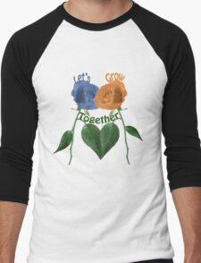 Lets Grow Together 1.0 Men's Baseball ¾ T-Shirt