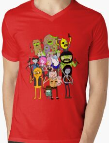 The Walking Dead Time Mens V-Neck T-Shirt