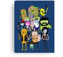 The Walking Dead Time Canvas Print