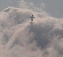 Rising High, Christ The Redeemer, Rio de Janeiro, Brazil by Martyn Baker   Martyn Baker Photography