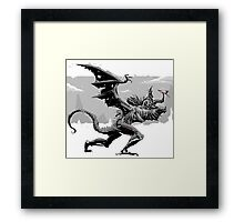 Dragonslayer For the Win Framed Print