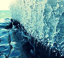 Lake Superior Ice Ribbons by saucyapple