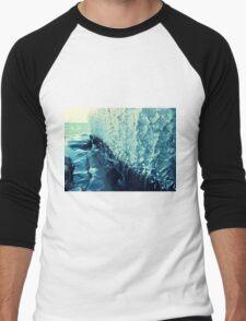 Lake Superior Ice Ribbons Men's Baseball ¾ T-Shirt