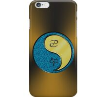 Cancer & Horse Yang Metal iPhone Case/Skin