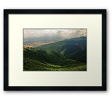 Light and Shadows, Shipka, Bulgaria Framed Print