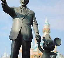 Walt & Mickey by alyssanicolev