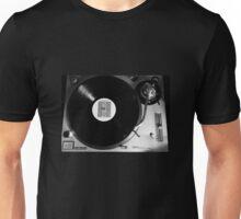 Joy Division Vinyl on Technics 1200 Unisex T-Shirt