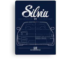 Silvia S13|180SX Canvas Print