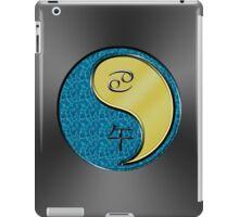 Cancer & Horse Yang Metal iPad Case/Skin