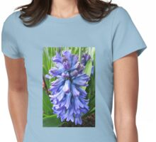 Blue Hyacinth Beauty Womens Fitted T-Shirt