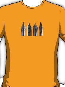 Fountain Pens -- NIBS!!  T-Shirt