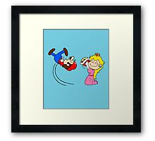 Super Charlie Bros. Framed Print
