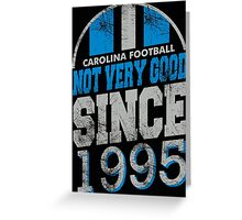 Carolina Football  Greeting Card