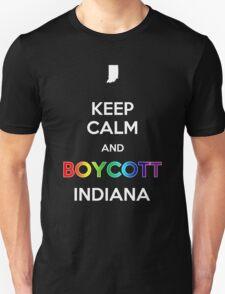 Keep Calm and Boycott Indiana T-Shirt