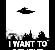 I want to believe by Samantha Lusher