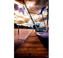 The Plank: Constitution Dock, Hobart, Tasmania Photographic Print