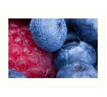 Breakfast Berries 3 Art Print
